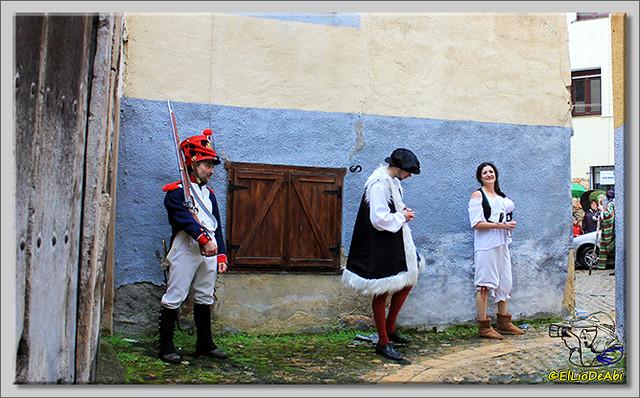 La Batalla por la Sal, visitas teatralizadas en Poza de la Sal (8)