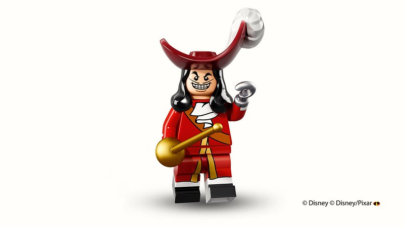 LEGO 71012: Disney Collectible Minifigures - Captain Hook