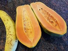 Semi-Seedless Papaya
