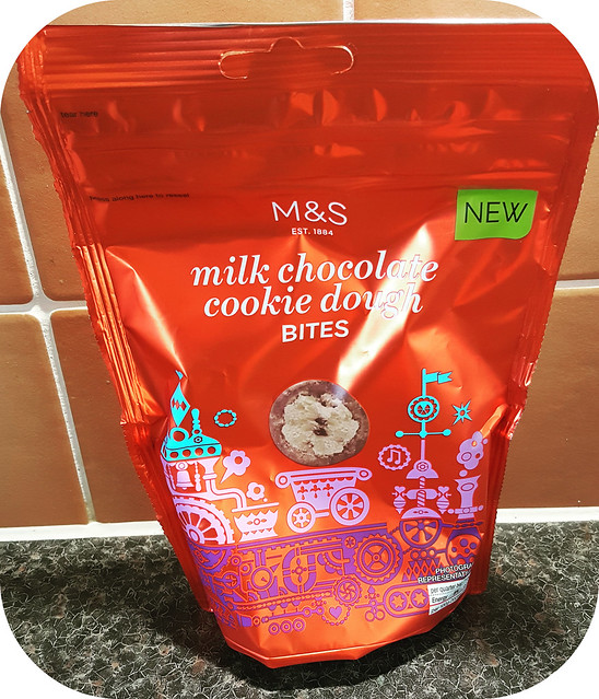 Marks & Spencer Milk Chocolate Cookie Dough Bites