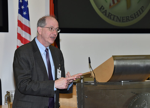 DOD Cyber Security Official Gives Closing Remarks at Global Workshop
