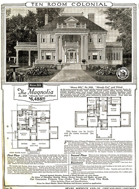 Sears kit home: The Magnolia
