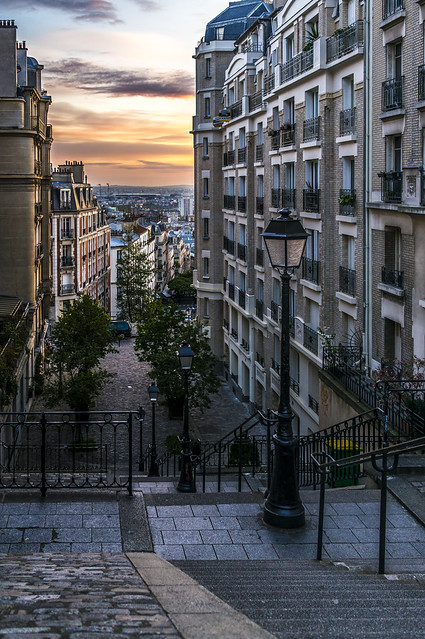 Sunrise over Montmartre