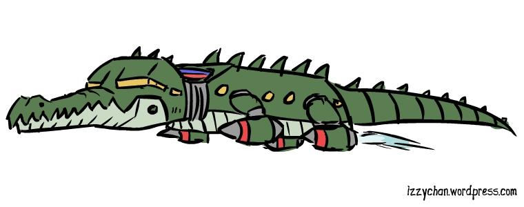 crocodile ship