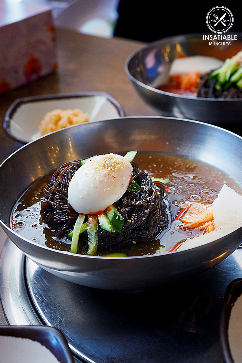 Mul Naeng Myeon, $13: Poong Nab Dong, Eastwood. Sydney Food Blog Review
