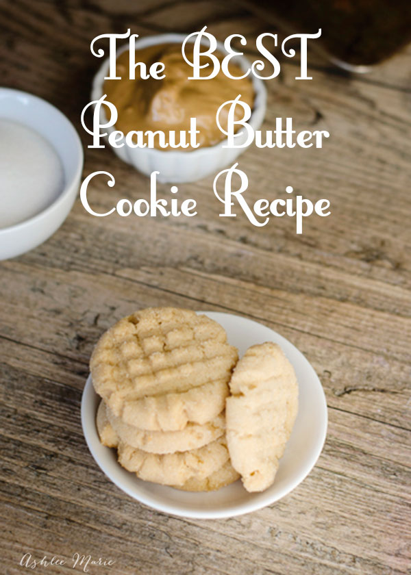 the most perfect peanut butter cookie recipe you will ever try, soft center, with a sweet crunchy exterior