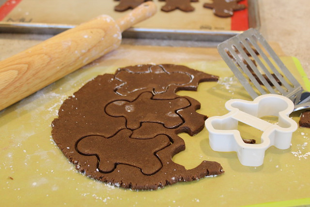 You can make these cookies in any shape or size, but Gingerbread Men are so much fun!