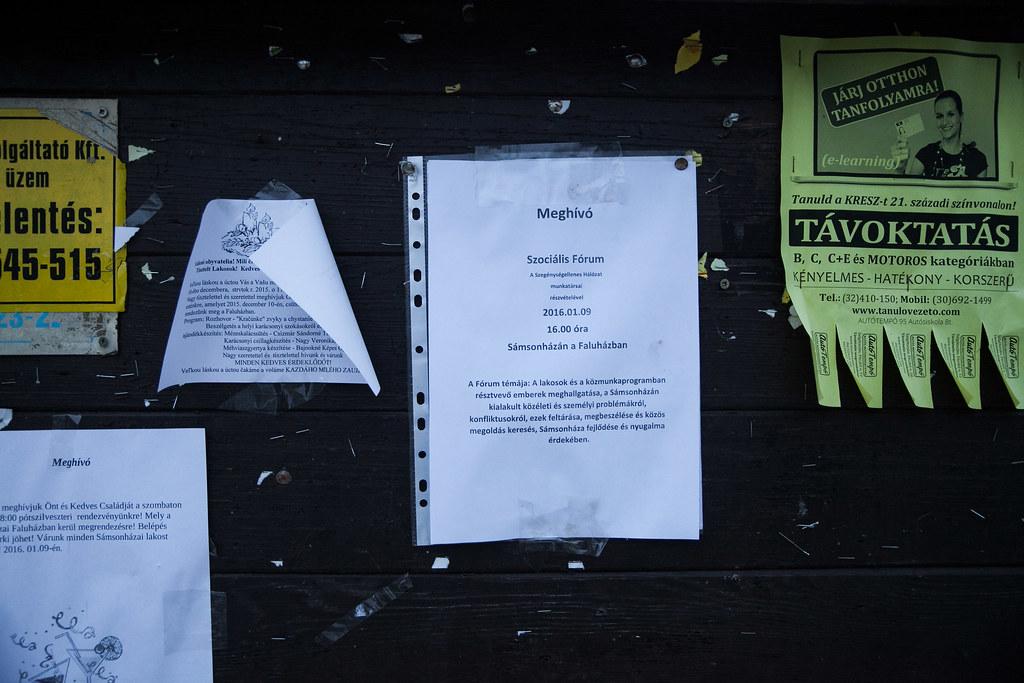 Sámsonháza social public employment conflict