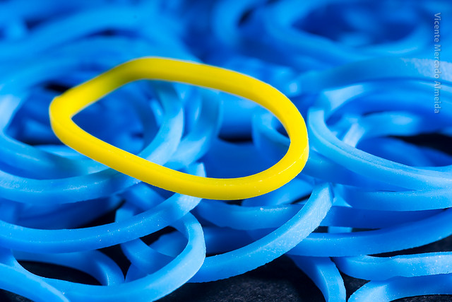 Rubber Band (Blue & Yellow)