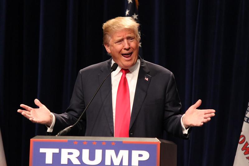 Donald Trump in Ottumwa, Iowa