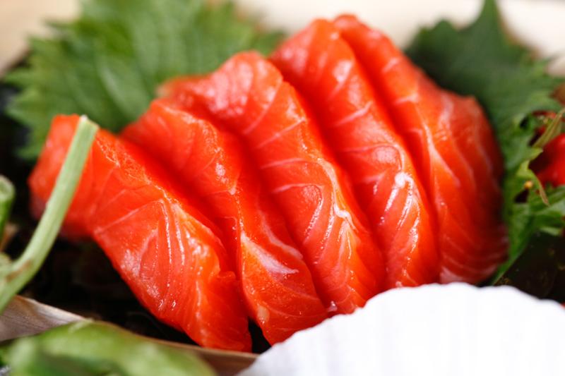 Yamaguchi Salmon Sashimi
