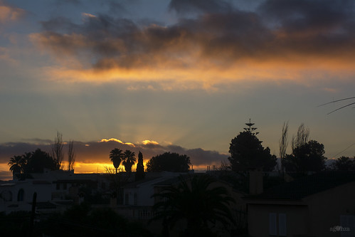 sunrise cielo mallorca baleares airelibre
