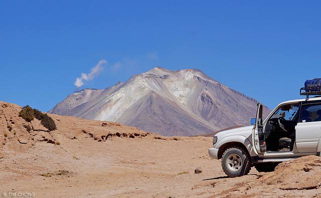 Ollagüe Volcano