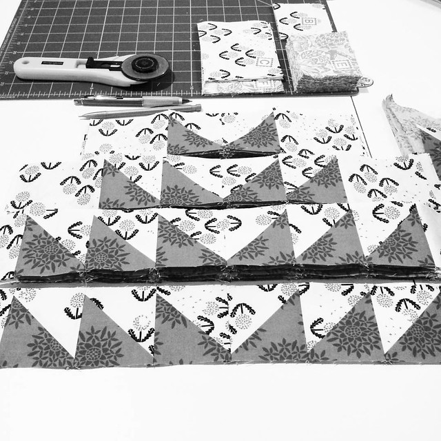 Getting there. #birchenquilt #fqsfun