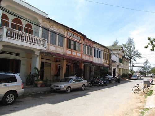 Kampot et ses maisons coloniales