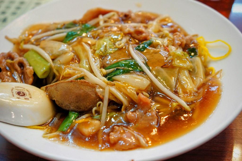 廣州炒麵,料多,不過感覺像是燴麵