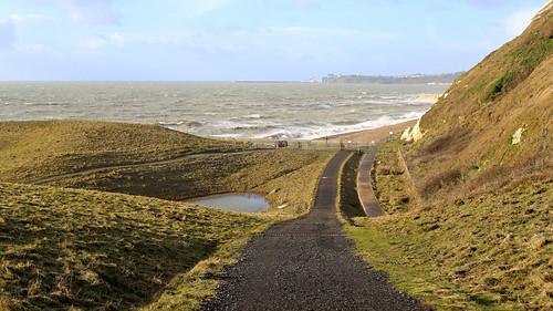 A walk on windy Samphire Hoe