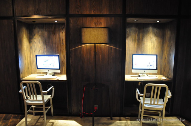 Internet Station at pentalounge pentahotel