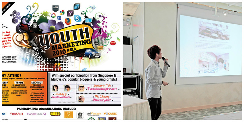 typicalben Guest speaker for Youth Marketing Asia Conference