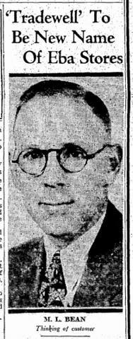 Monte L. Bean, 1939