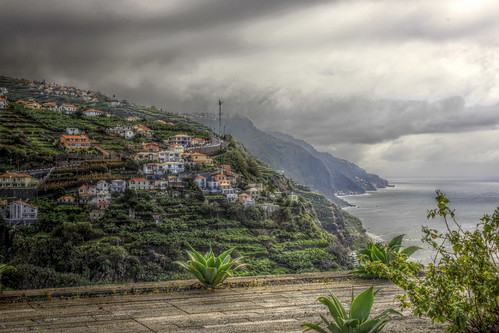 Madeira -  View from Casa das Mudas Art Centre