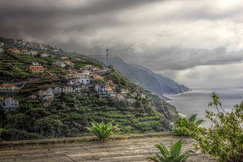 Madeira -  View from Casa das Mudas Art Centre
