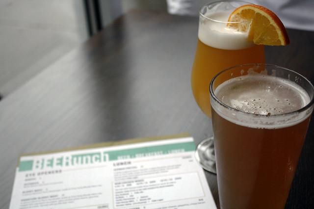 BEERunch at World of Beer
