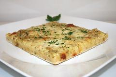 33 - Garlic Pizza - Side view / Knoblauchpizza - S…