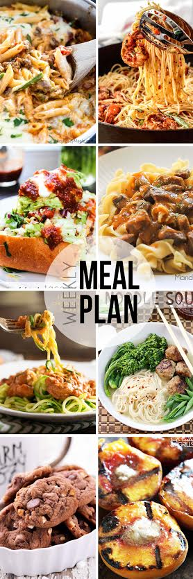 Week 33. Collaborative weekly meal planning. 9 bloggers. 6 dinner ideas, one-weekend breakfast plus 2 desserts every single week equals one heck of a delicious menu!