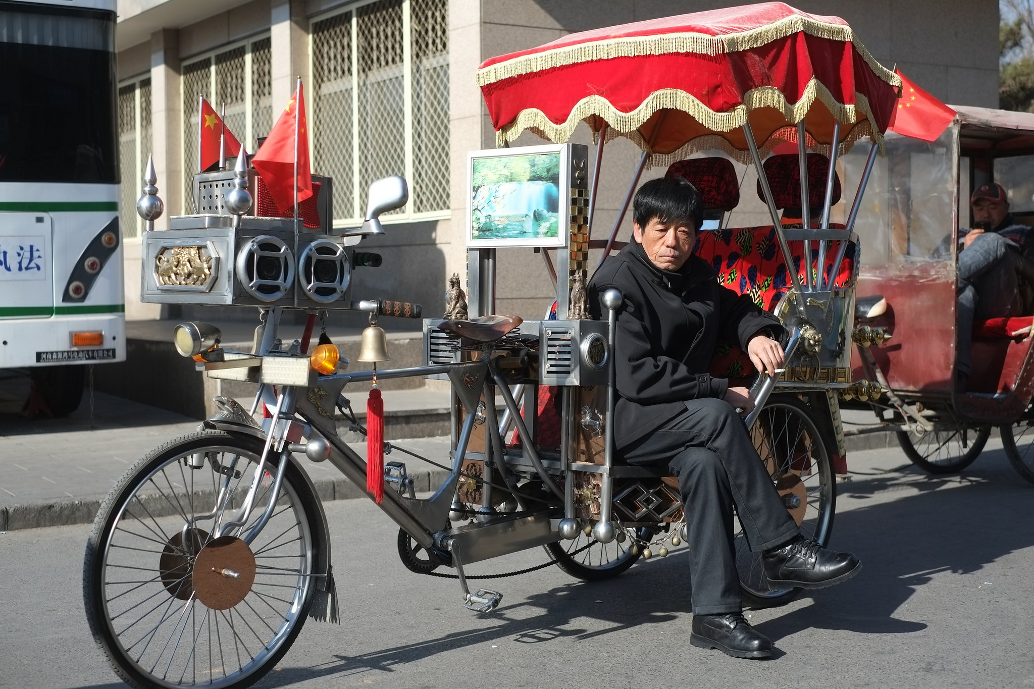 Die schönste Rikscha Beijings