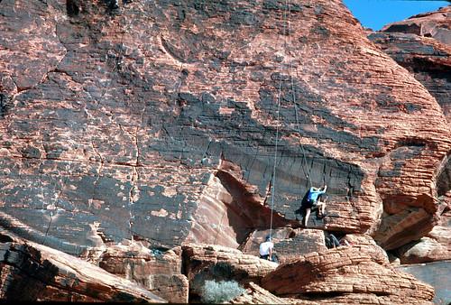 Rock Climbing in Red Rock Canyon NCA