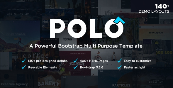 ThemeForest Polo v1.6 - Responsive Multi-Purpose HTML5 Template