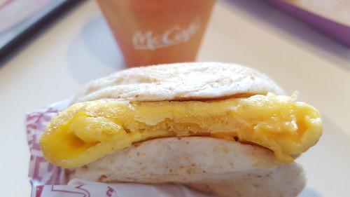 Cheesy Egg Pandesal McDonalds