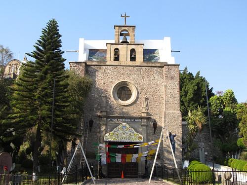 Mexico City: Ancienne Paroisse des Indigènes