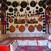 Small photo of Inside an Adari house