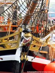 Tall Ships 2012 larinda frog