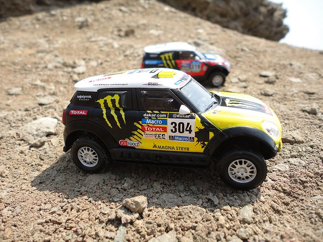 Mini All4 Racing (2014) 1/43 (PCT-IXO)