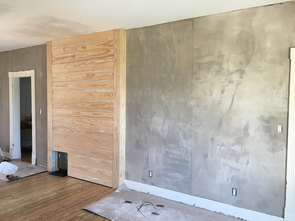 Plaster Restoration Next Steps Part 1: Base Coat With StructoLite   Old  Town Home