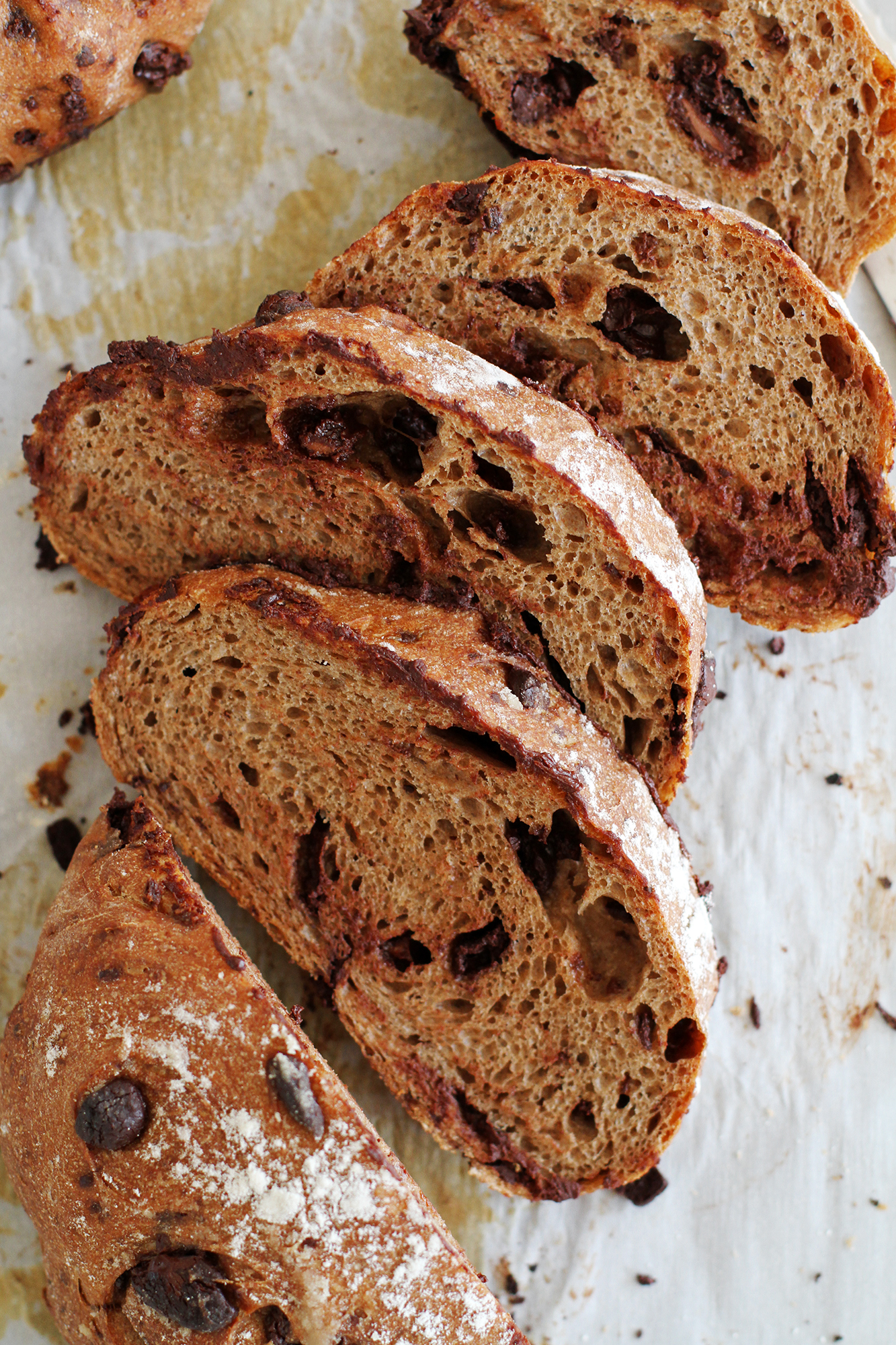 Preston Hill Bakery Chocolate Bread | girlversusdough.com @girlversusdough