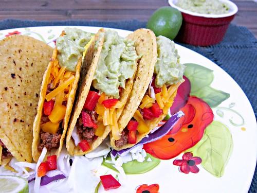 Spicy Beef Tacos