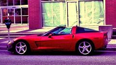 Little Red Corvette on a Purple road