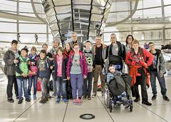 Besuchergruppe der Troxlerschule Wuppertal am 20.04.2015