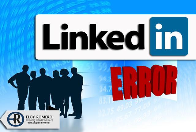 13 Errores a evitar en tu perfil de Linkedin