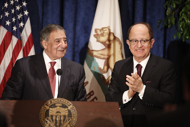 USC President's Distinguished Lecture Featuring The Hon. Leon E. Panetta on 4/25/16
