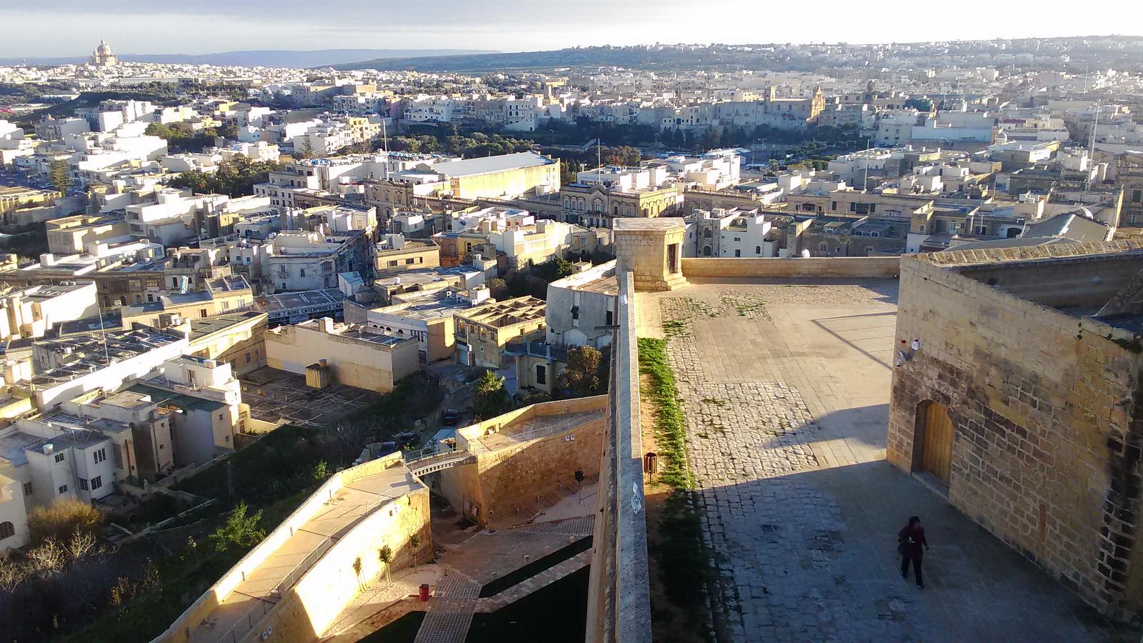 Vista dalla Cittadella