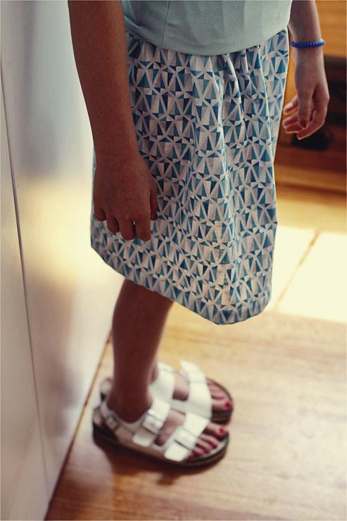 Blue Skirt #1