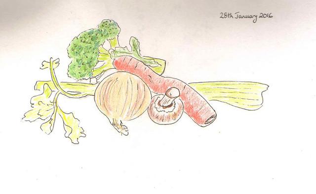 vegetables - v