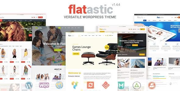 Themeforest Flatastic v1.4.6 - Versatile WordPress Theme