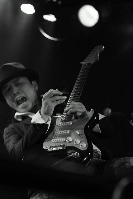 Juz live at Outbreak, Tokyo, 19 Jan 2016. 081