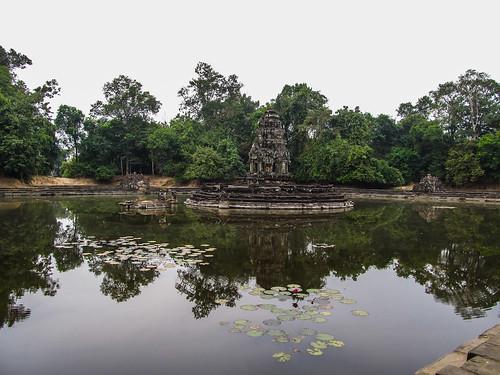 Angkor: le temple Neak Pean